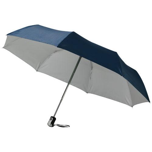 21,5 3sekční světle modrý deštník s automatickým otevíráním a skládáním