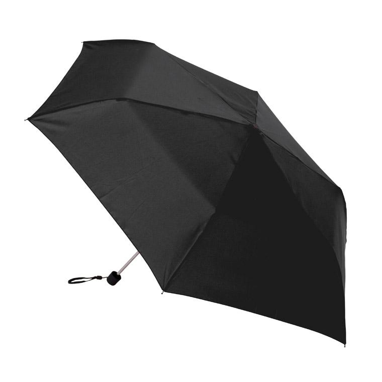 Černý mini-deštník v obale