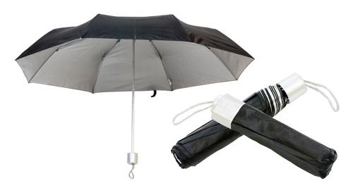 Barevný deštník černý