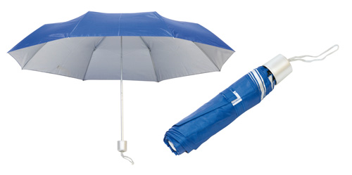 Barevný deštník modrý