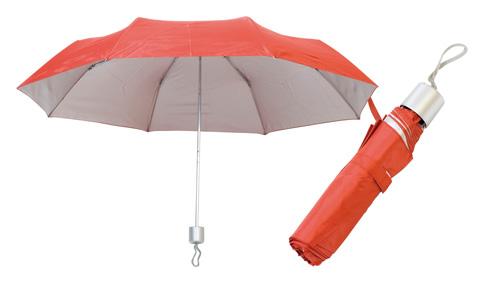 Barevný deštník červený