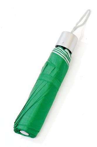 Barevný deštník zelený