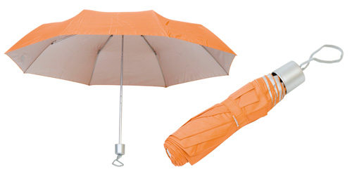 Barevný deštník oranžový