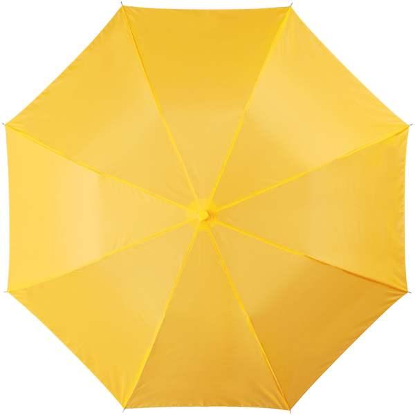 20palcový 2sekční deštník žlutý
