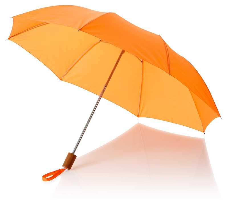 20palcový 2sekční deštník oranžový