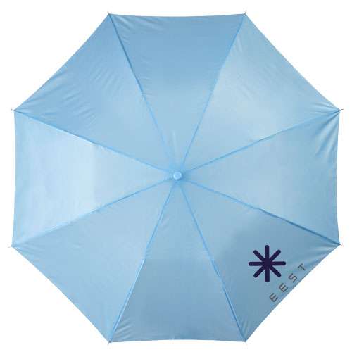 20palcový 2sekční deštník modrý