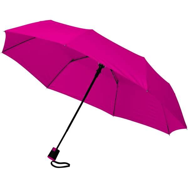 Skládací deštník Wali 21palců s automatickým otvíráním