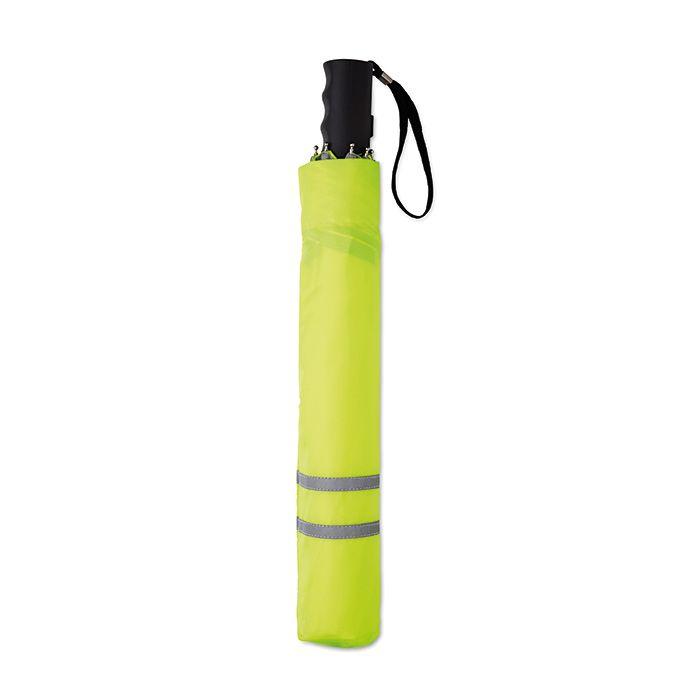 27palcový deštník reflexní žlutá