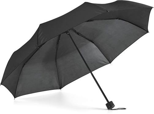 Deštník černý s potiskem