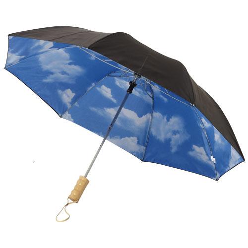 Dvoudílný automatický deštník Blue 21