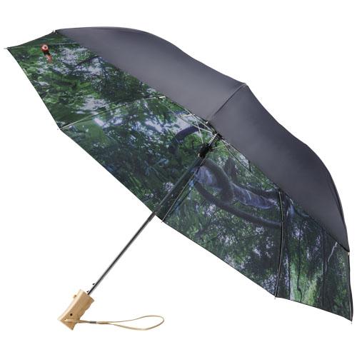 23 automatický, 2sekční deštník lesní nebe