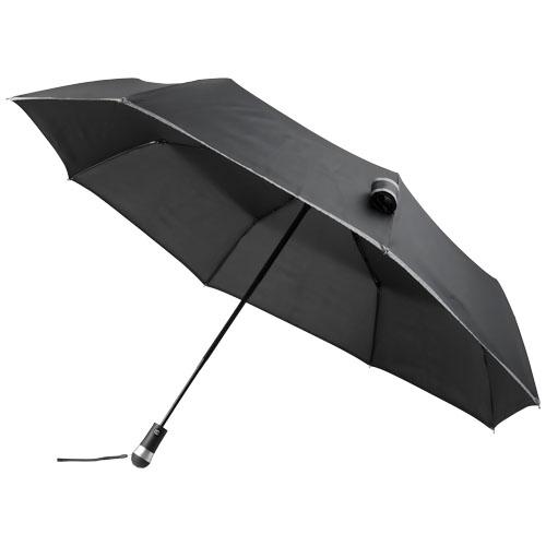 Skládací deštník Luminous, 27, s automatickým otvíráním i zavíráním a s LED světlem