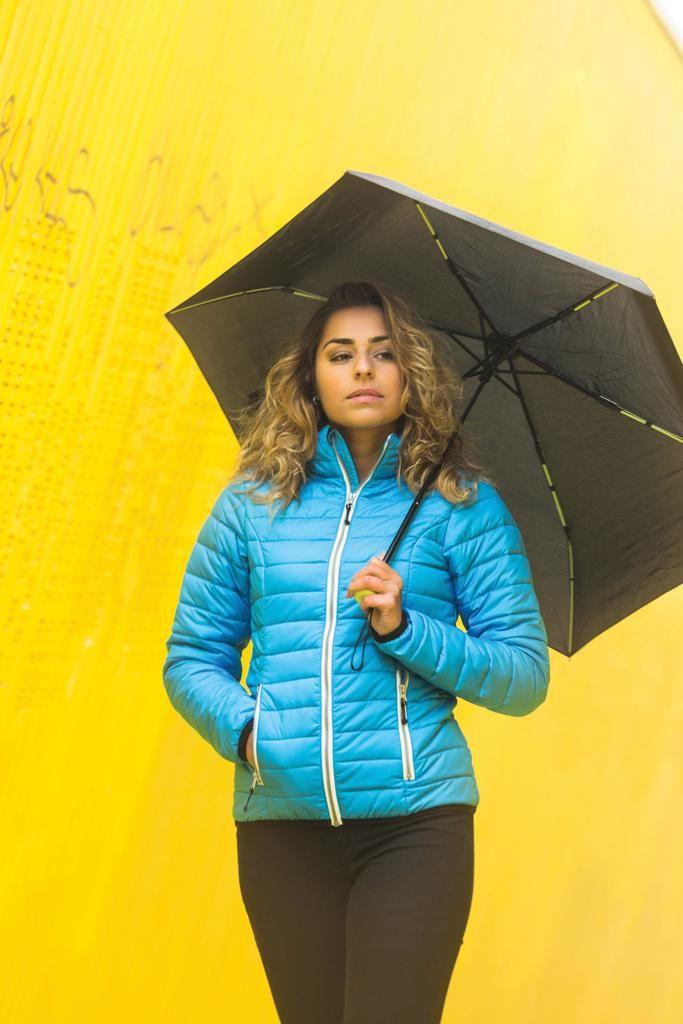 Barevný 21 skládací deštník ze sklolaminátu