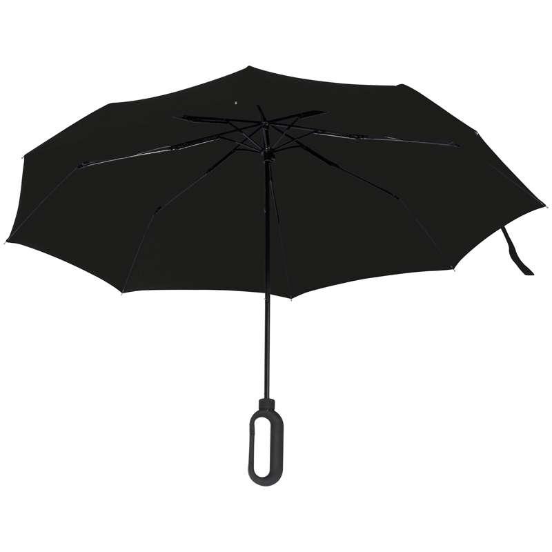 Automatický kapesní deštník s karabinou