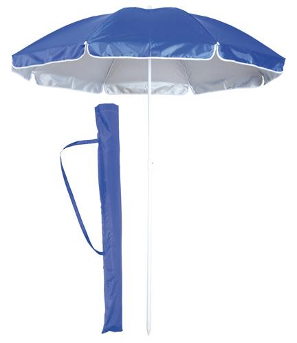 Taner modrý plážový deštník