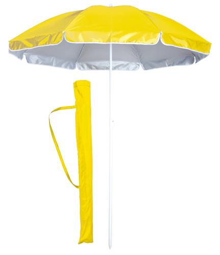 Taner žlutý plážový deštník