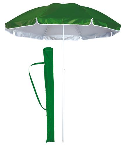 Taner zelený plážový deštník