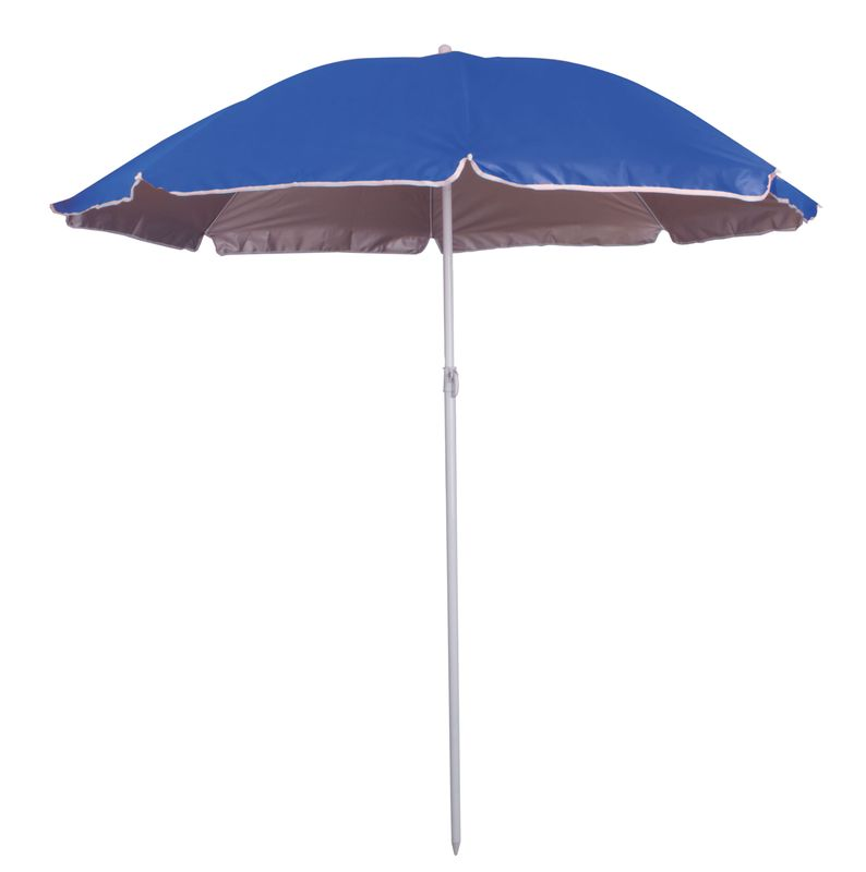 Slunečník s UV  tmavě modrá
