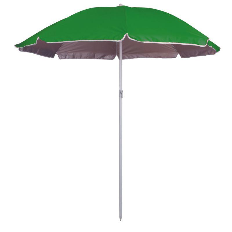 Slunečník s UV  zelená