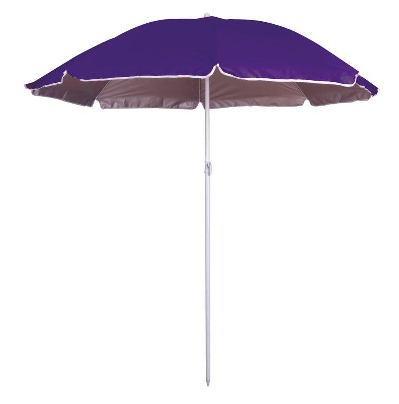 Slunečník s UV  fialová