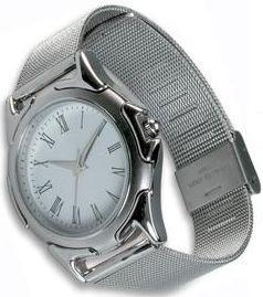 Celokovové náramkové hodinky