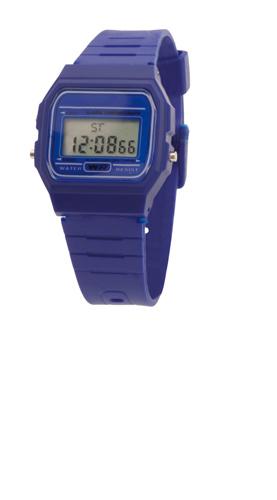 Kibol modré hodinky