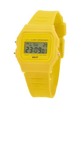 Kibol žluté hodinky