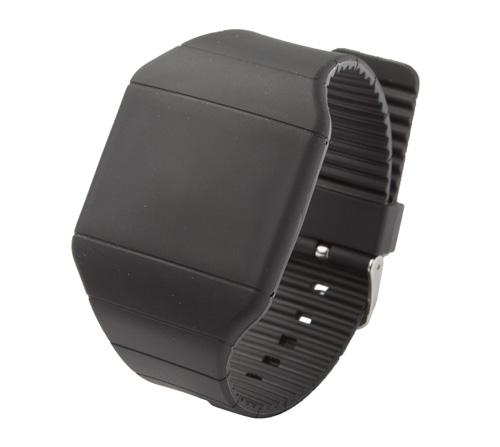 Nivert černé LED hodinky