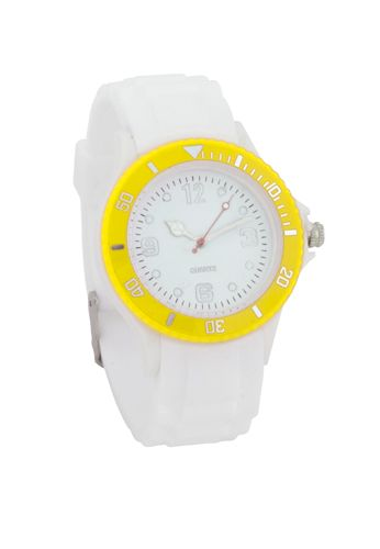 Hyspol žluté unisex hodinky