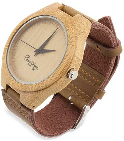 Bambusové hodinky