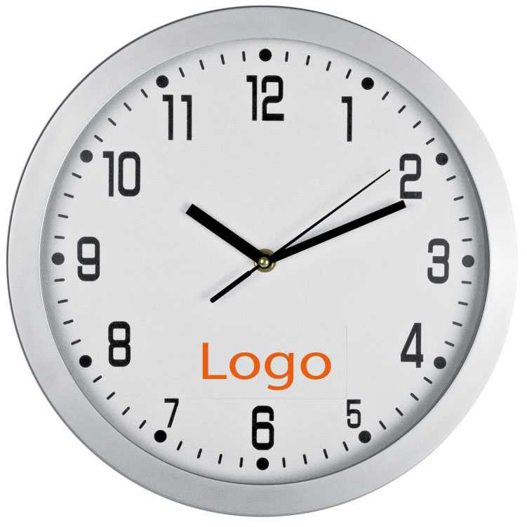 Reklamní nástěnné hodiny