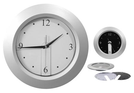 Nástěnné hodiny plastové - kulaté