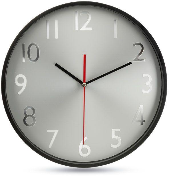 Nástěnné hodiny s hliníkovým ciferníkem