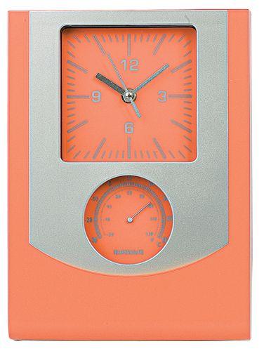 Nástěnné hodiny oranžové