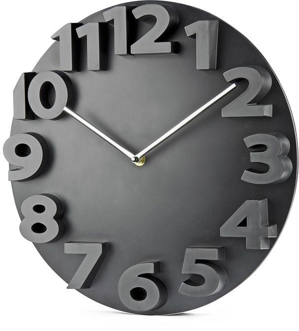 Nástěnné hodiny MAURO černá