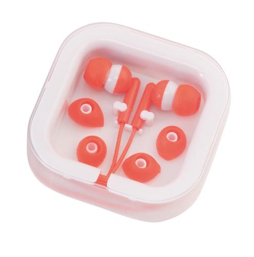 Červená Cort sluchátka