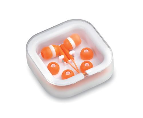 Oranžová Cort sluchátka