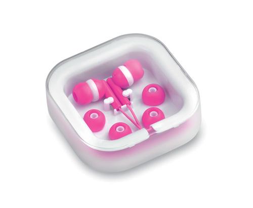 Růžová Cort sluchátka