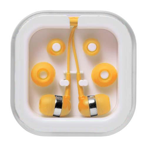 Žlutá sluchátka