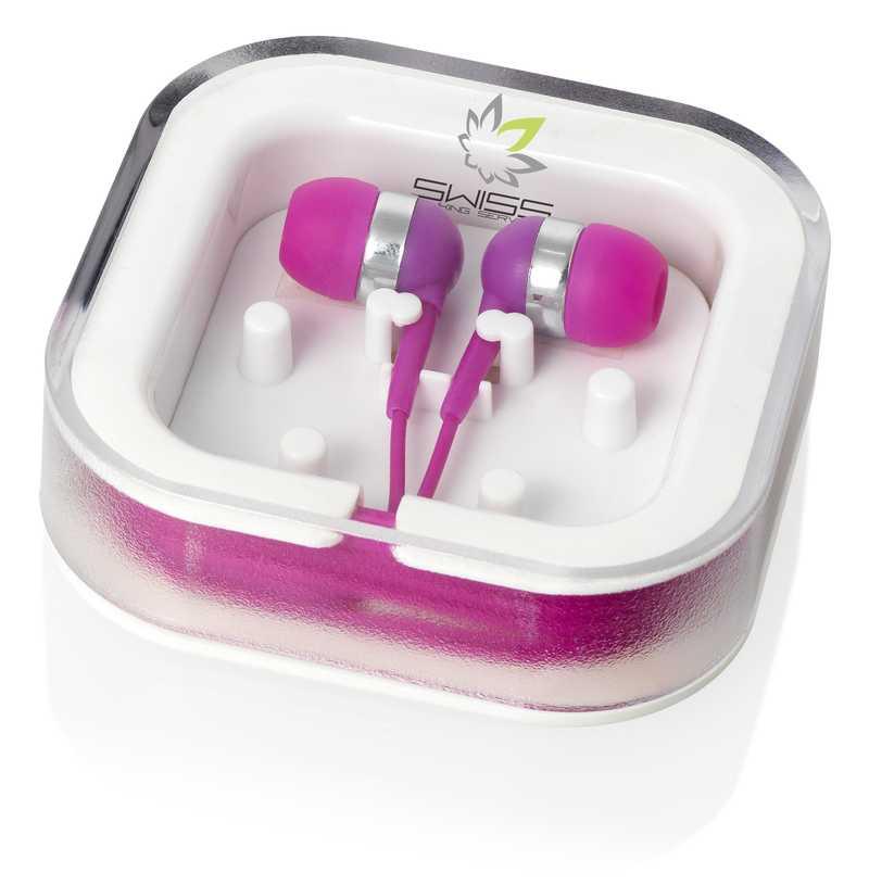Fialová sluchátka