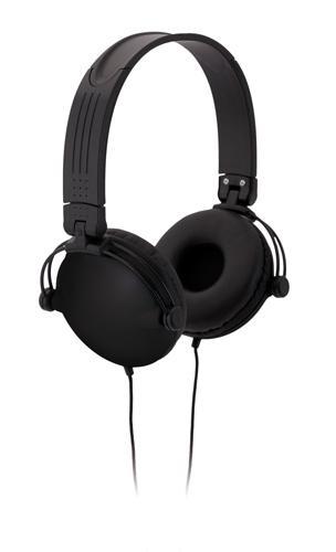 Rem černá sluchátka