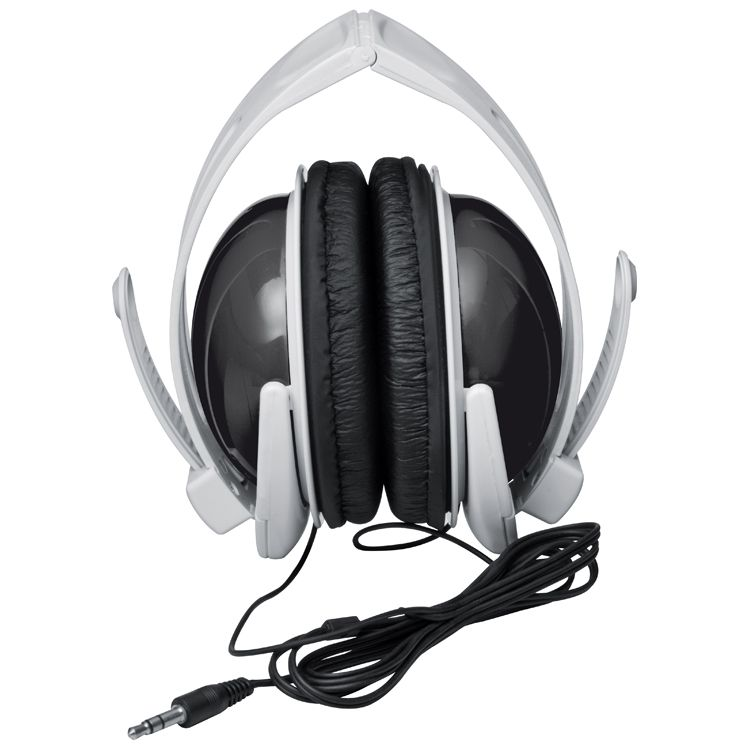 Moderní černá sluchátka