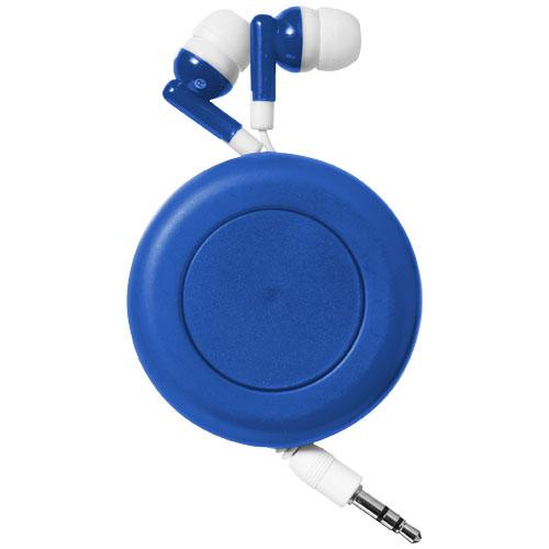 Modrá sluchátka Twister