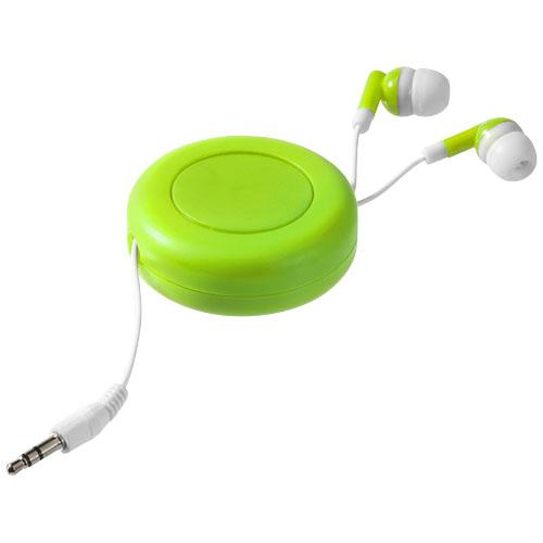 Zelená sluchátka Twister