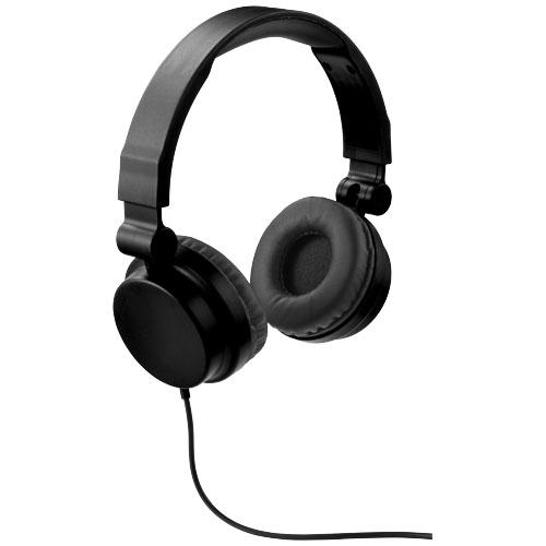 Černá skládací sluchátka Bounz