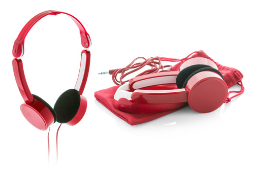 Heltox červená sluchátka