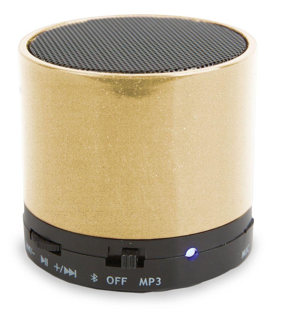 Bluetooth reproduktor zlatý
