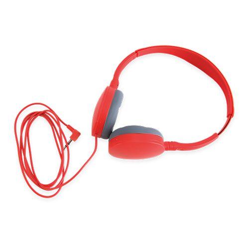 Sluchátka King červená