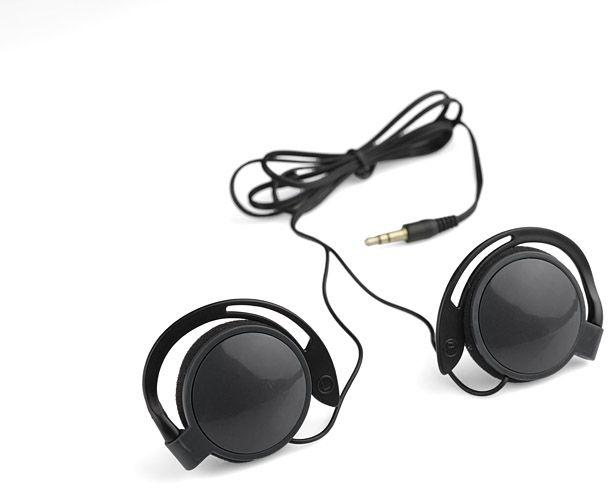 Sluchátka CLIP černá