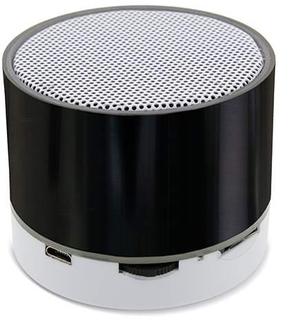 Bluetoothový reproduktor s podsvíceným logem, černá